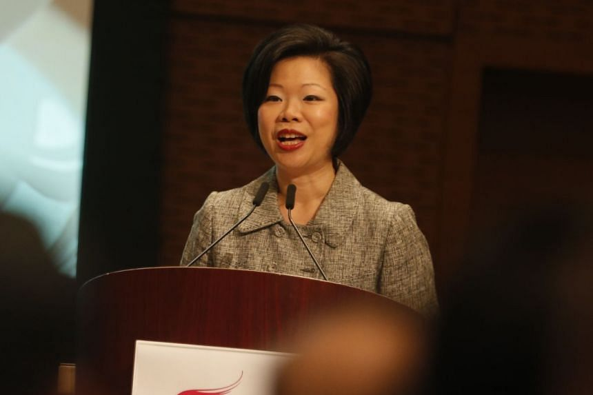 MS SIM ANN, Senior Minister of State for Trade and Industry.