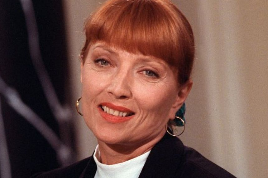 French actress Stephane Audran, in a photo taken in 1988, thrived on challenges, covering a wide spectrum of roles in her career.