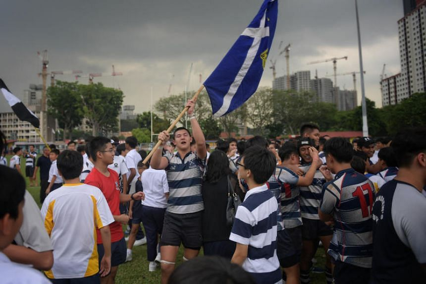 St Andrew's Secondary School's B Division rugby team won 13-10 against Anglo Chinese School (Independent) to claim their first title after a three-year drought.