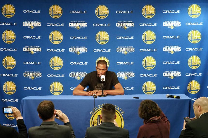 Coach Steve Kerr said Kevin Durant (above), who had a rib injury, appeared to be ready to return.