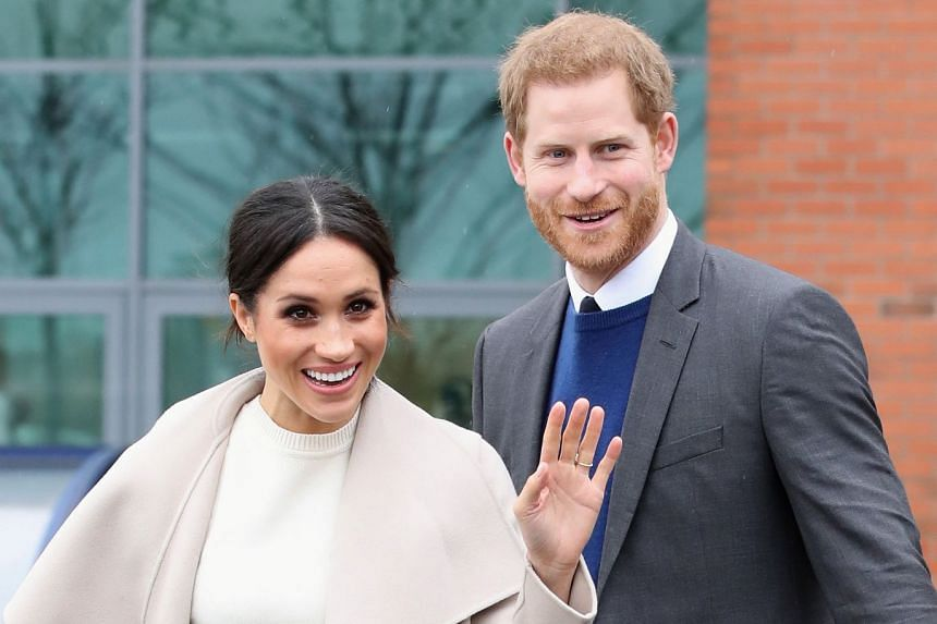 Prince Harry and Meghan Markle visiting Northern Ireland on March 23, 2018.
