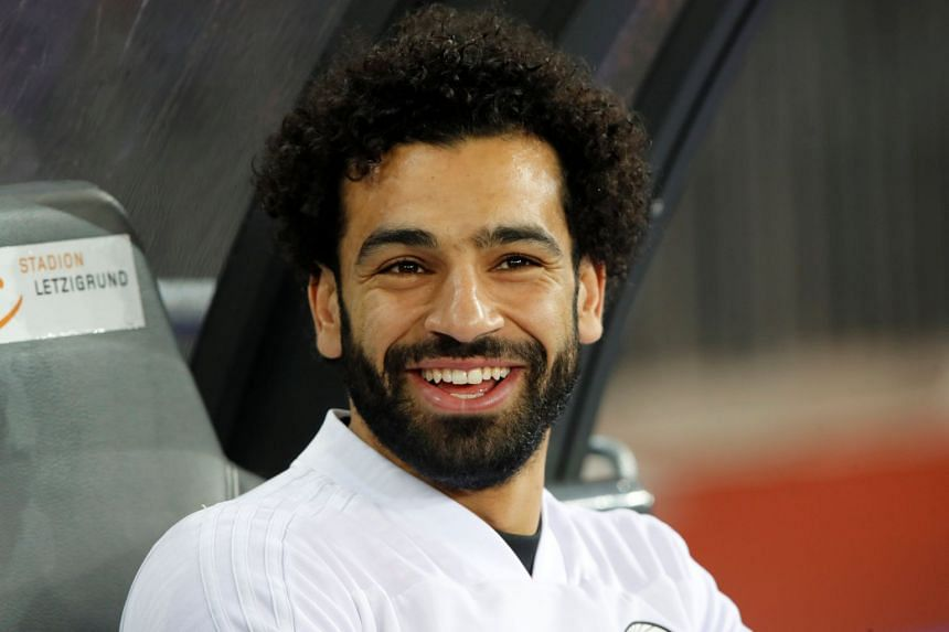Salah, 25, is the top scorer in the English Premier League with 28 goals in 30 matches.