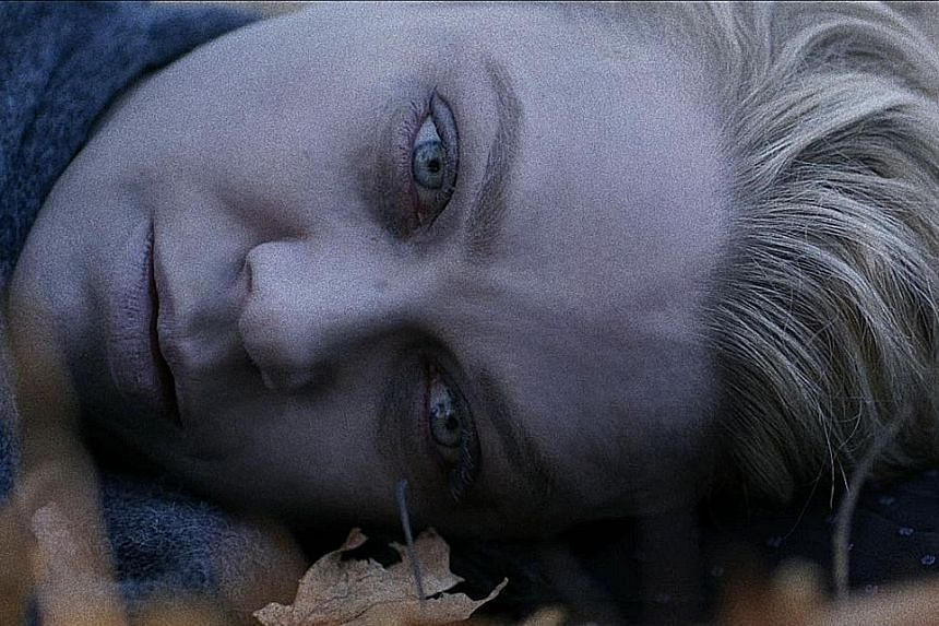 Laurie Holden plays the mother of a rebellious teenage daughter in Pyewacket.