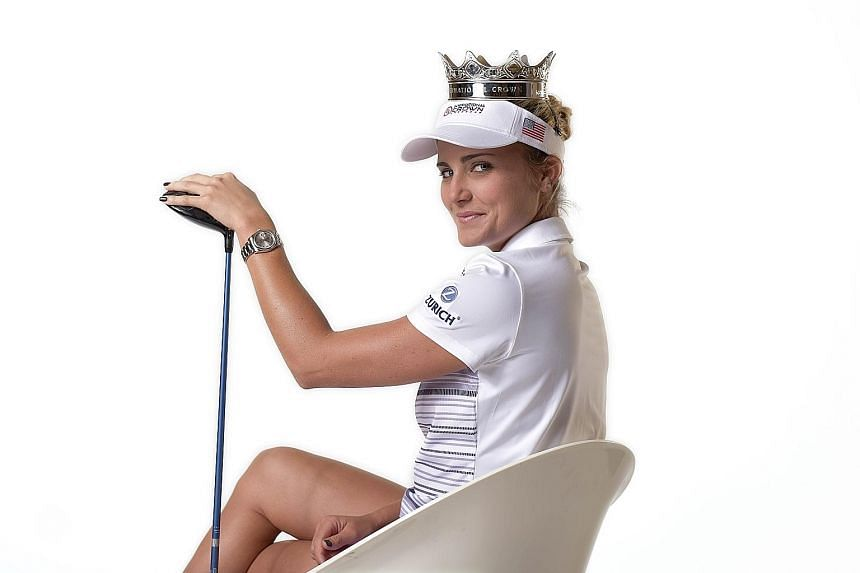 Lexi Thompson in a promotional shot for the UL International Crown, a biennial team competition played by the best women from the world's top eight countries. The American will be hoping to add to her only Major crown this week. She won the ANA Inspi