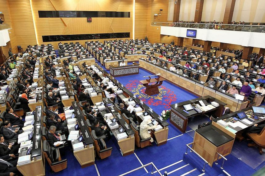 There are a total of 222 seats in the Malaysian federal Parliament, after counting in 31 seats in Sarawak, 25 in Sabah, and one in Labuan island.