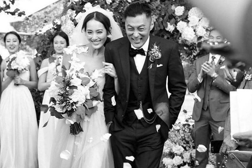 Hong Kong actor Shawn Yue confirmed to reporters that his wife, Taiwanese model Sarah Wang, is pregnant.