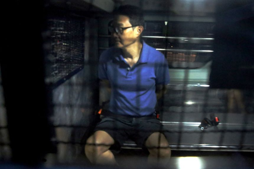 Chew Eng Han was caught just minutes after he had embarked upon his alleged escape bid.