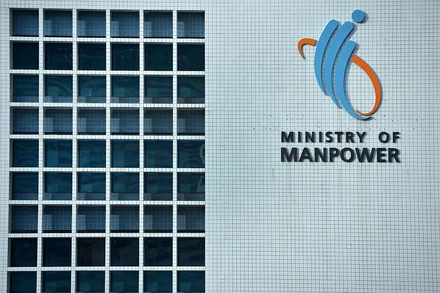 The Ministry of Manpower building in Havelock Road.
