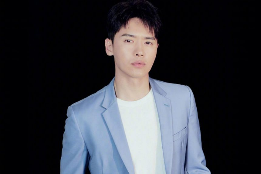 A woman alleged Chinese actor Gao Yunxiang (pictured) and another 35-year-old man, Wang Jing, attacked her in a room in Shangri-La Hotel.