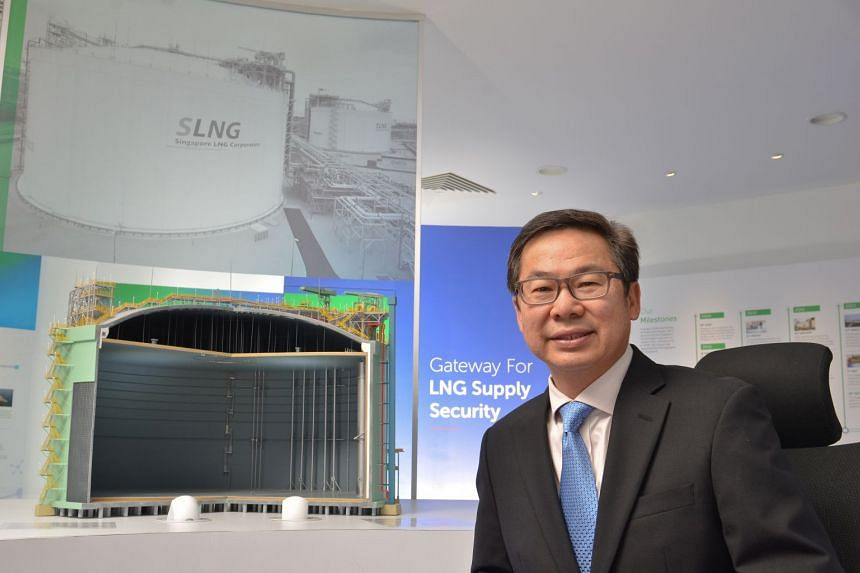 Mr John Ng, currently chief of Singapore LNG Corporation, has more than 30 years of experience in the energy sector.