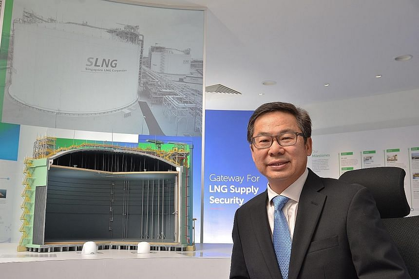 Singapore LNG Corporation chief executive John Ng (left) will take over on April 1 from Mr Heng Chiang Gnee, who will be retiring from the WSH Council after a 10-year stint.