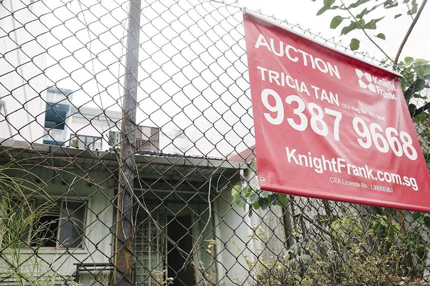 The public trustee's sale - at 17, Jalan Batai, where the skeletal remains of two sisters were found - was closed at $2.23 million. A total of 11 homes were sold under the hammer in the first quarter - up from eight in the same period last year.