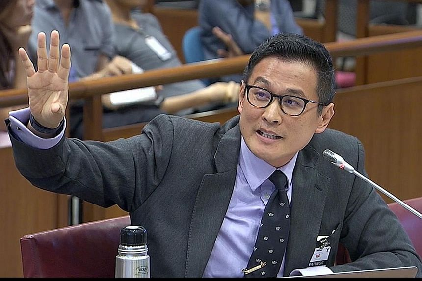 Research fellow Thum Ping Tjin at the hearing yesterday, which lasted nearly six hours. In a 2013 paper, he argues that there is no evidence that Operation Coldstore detainees were involved in any violent communist conspiracy to overthrow the Singapo