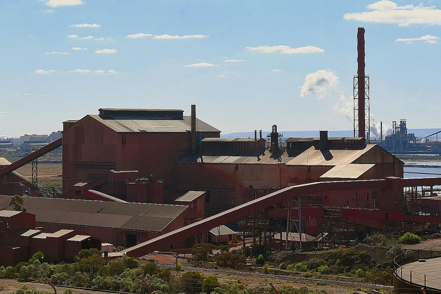 Arrium's steelworks facilities in Whyalla, South Australia. The town and its steel industry are bouncing back after Mr Sanjeev Gupta sealed a deal to buy Arrium's mines and steelworks. His firm GFG Alliance plans to invest more than A$1 billion to up