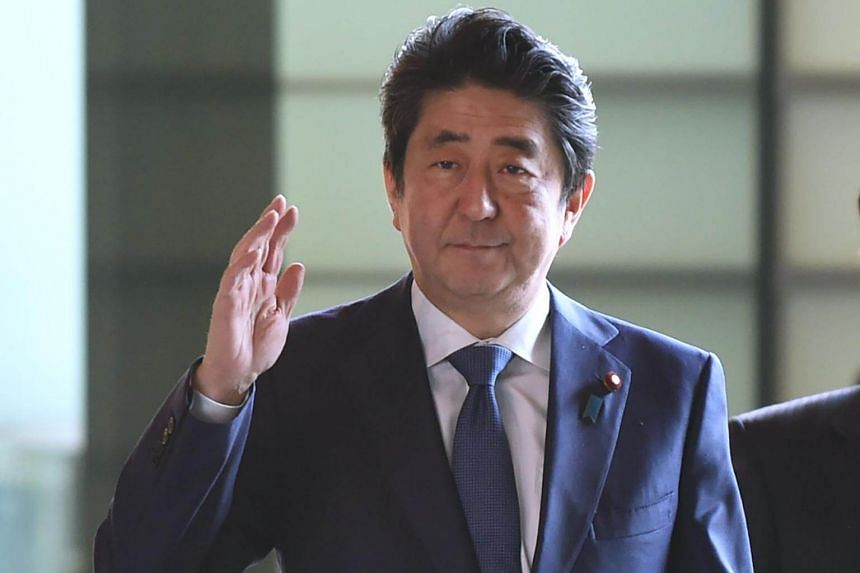 Japan's Prime Minister Shinzo Abe said he would explain Japan's stance on the North Korean abduction of Japanese citizens in a meeting with Donald Trump.
