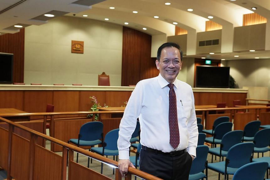 Mr Charles Chong, chairman of select committee on deliberate online falsehoods.