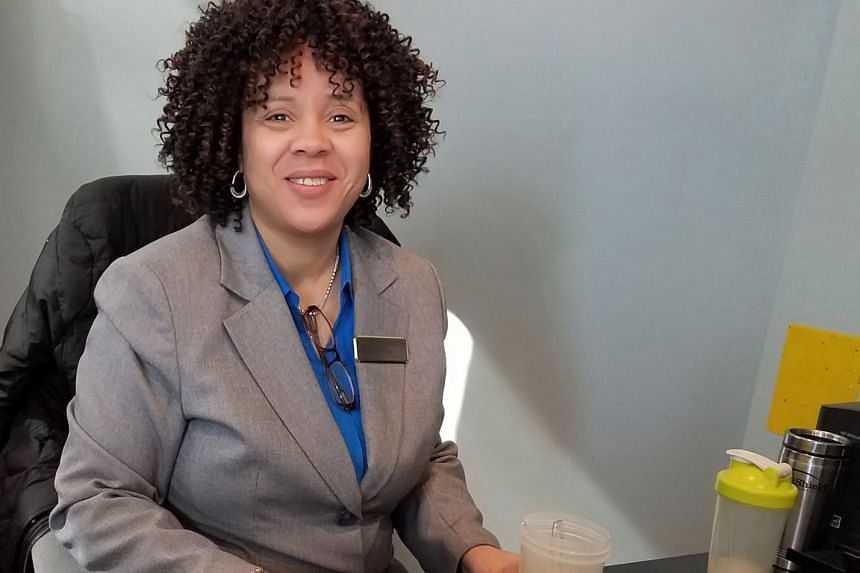 Ms Debra Cole, 57, works as concierge at a condominium in Washington DC, earning less than US$20 (S$26) an hour, with no other benefits.