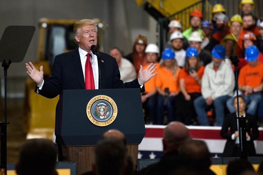 """Calling the trade deal a """"very strong card"""", US President Donald Trump hinted it could be used as leverage to get Seoul to do more to denuclearise the North."""