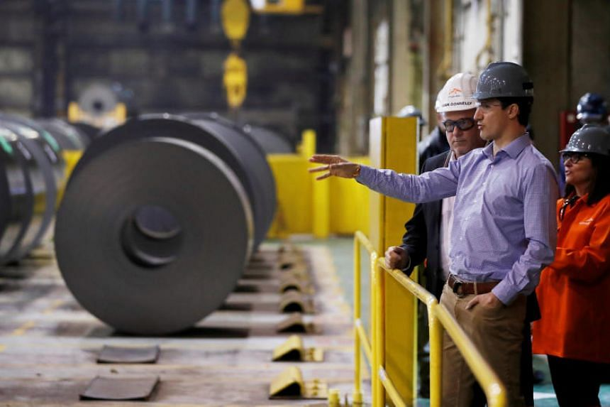 Canadian Prime Minister Justin Trudeau recently said that he would act to prevent the smuggling of cheap steel and aluminium into the North American market.