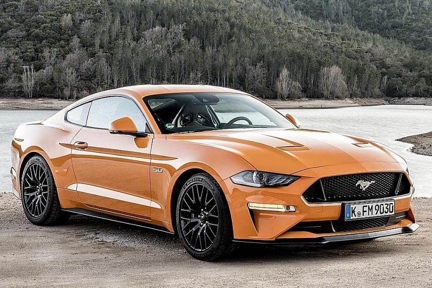 Ford's updated Mustang