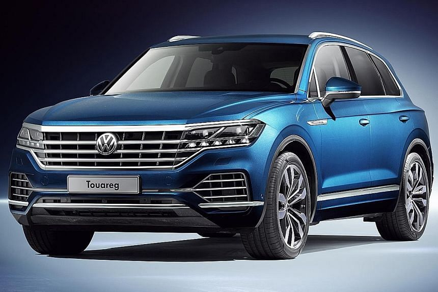 Compared with its predecessor, Vollkswagen's third-generation Touareg is moderately wider and longer.