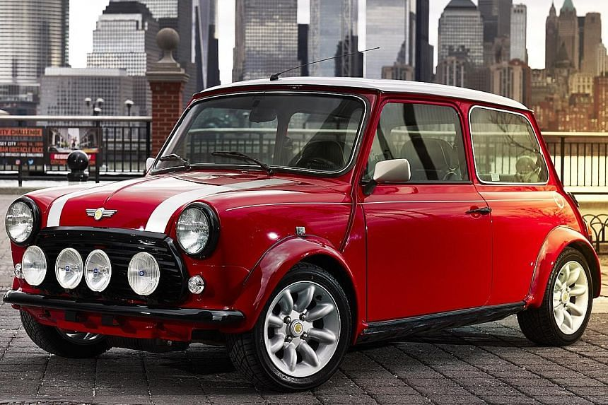 Mini will show off a classic electric model at the New York International Auto Show this weekend.