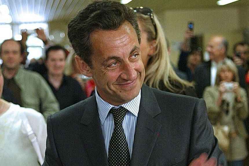 Mr Nicolas Sakorzy in a 2007 photo. He has stayed in the background of French politics even amid the recurring headlines of his judicial entanglements.