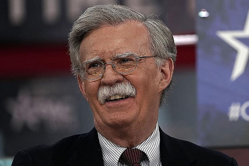 Documents show discussions about providing the data to Mr John Bolton's political action committee.