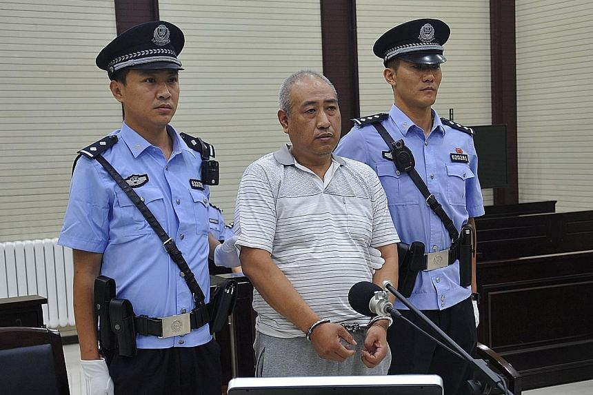 Gao Chengyong robbed, raped and ultimately murdered 11 female victims, prosecutors in north-west Gansu province said. The youngest victim was eight years old.