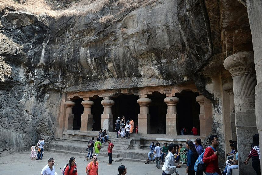 The Unesco world heritage-listed island of Elephanta in India is renowned for its ancient temple caves.