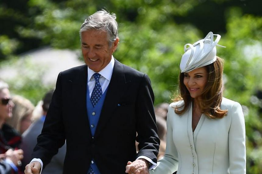 David and Jane Matthews attend the wedding of their son James to Pippa Middleton.