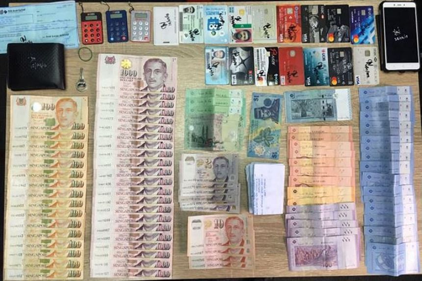 The police recovered about $24,000 in cash from Bahurudeen Kuthpudeen after he was arrested.