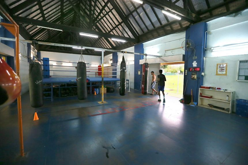 This gym at Farrer Park has been home to the Singapore Amateur Boxing Association for 50 years. It will move into a space at Bedok Sports Hall soon.