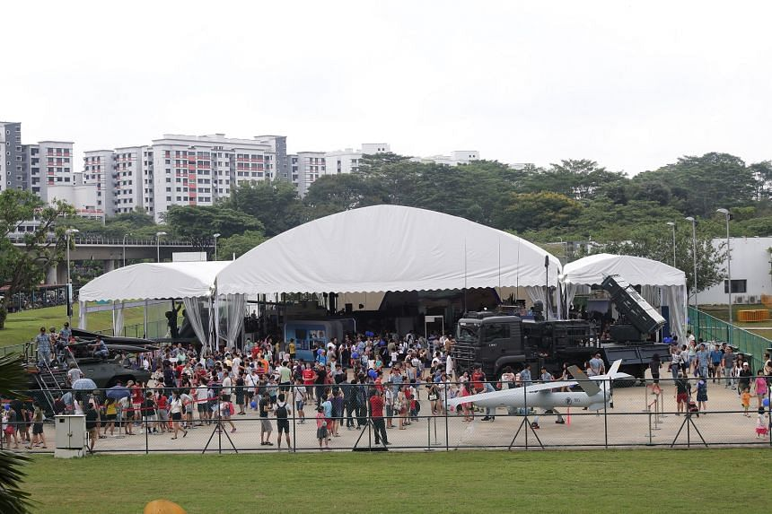 Sembawang is one of the three new heartland locations for the Republic of Singapore Air Force's golden jubilee celebrations.