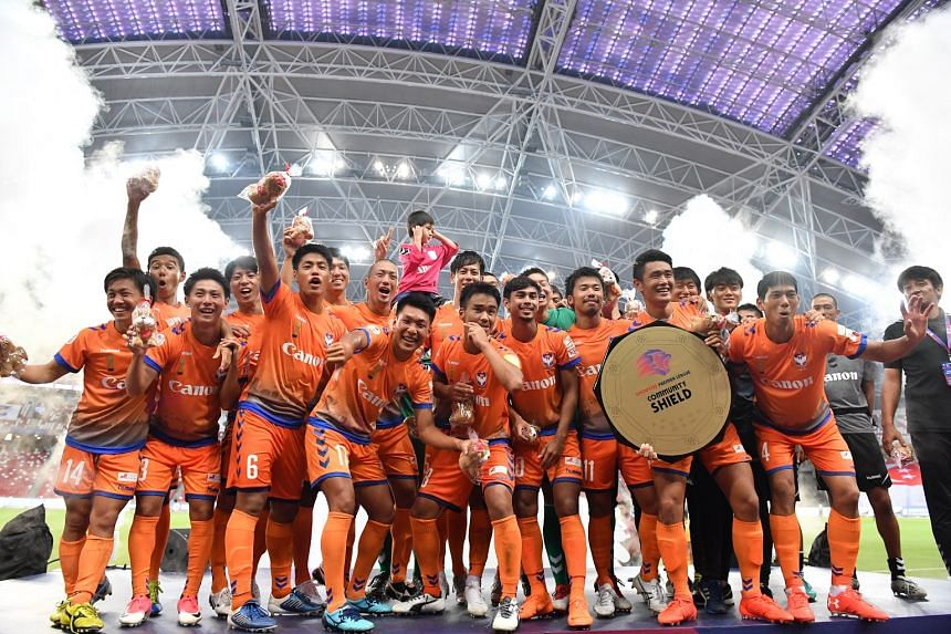 Albirex Niigata pipped Tampines Rovers 2-1 to win the Community Shield at the National Stadium on March 31, 2018.
