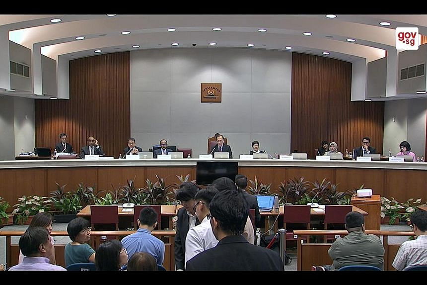 A public hearing of the Select Committee on Deliberate Online Falsehoods in progress. Three months after Parliament voted unanimously to form a Select Committee to study the issue, the panel completed its fact-finding process last Thursday. It will r