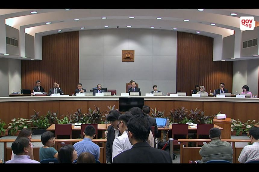 Public Hearing of the Select Committee on deliberate online falsehoods.