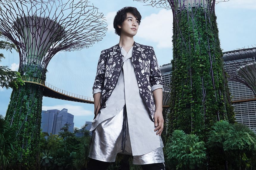 Takumi Saitoh is Singapore Tourism Board's first Japanese ambassador in a campaign shot by famous photographer Leslie Kee, whom he met nearly 20 years ago as a model.