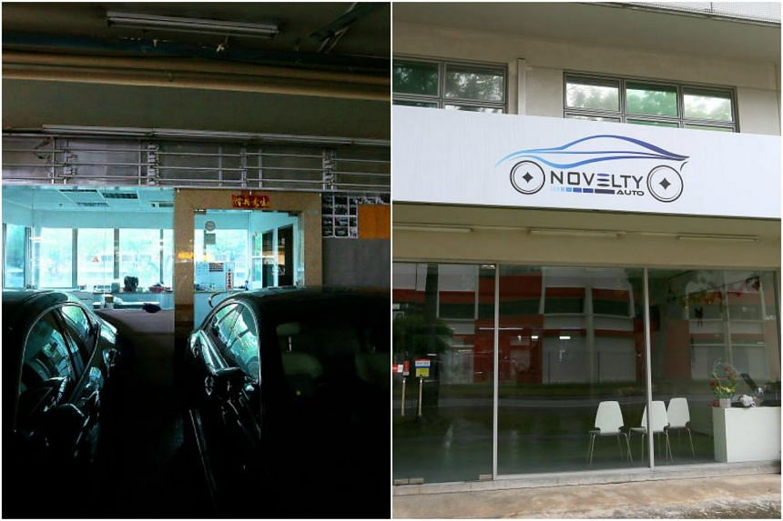 Parallel import car dealerships Apex Car (left) and Novelty Auto have closed, leaving some customers in the lurch.
