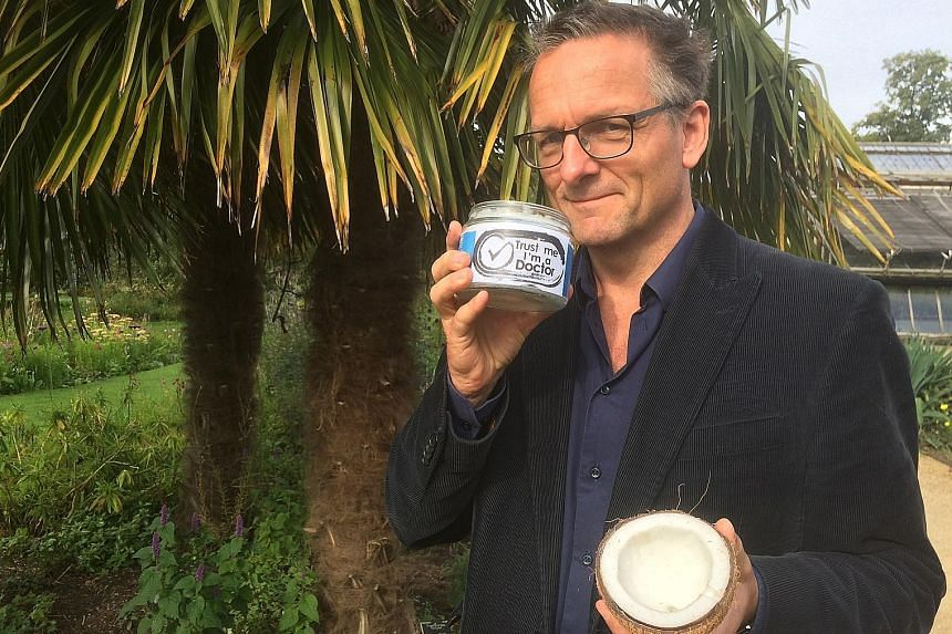 Award-winning journalist Michael Mosley (above) leads the team on the show, Trust Me I'm A Doctor, which examines health claims such as the benefits of coconut oil.