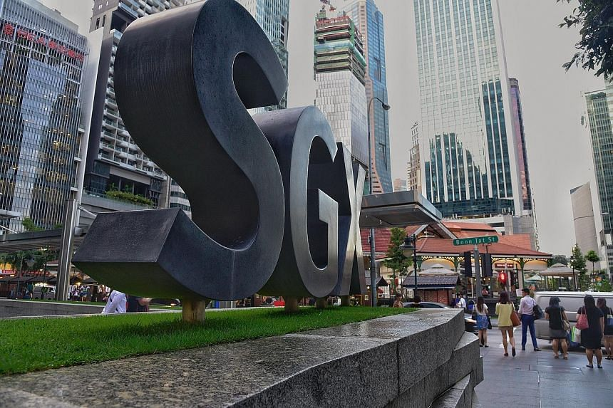 """The Singapore bourse's market cap stood at $984.5 billion at the closing bell on March 29, the last trading day of the month. A Daiwa report last month noted that the United States and China are locked in a geopolitical contest, which it calls a """"gre"""
