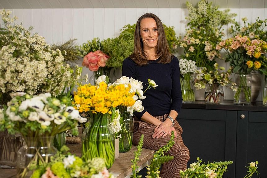 London florist Philippa Craddock will use seasonal blooms from around Windsor to decorate the ceremony venue.