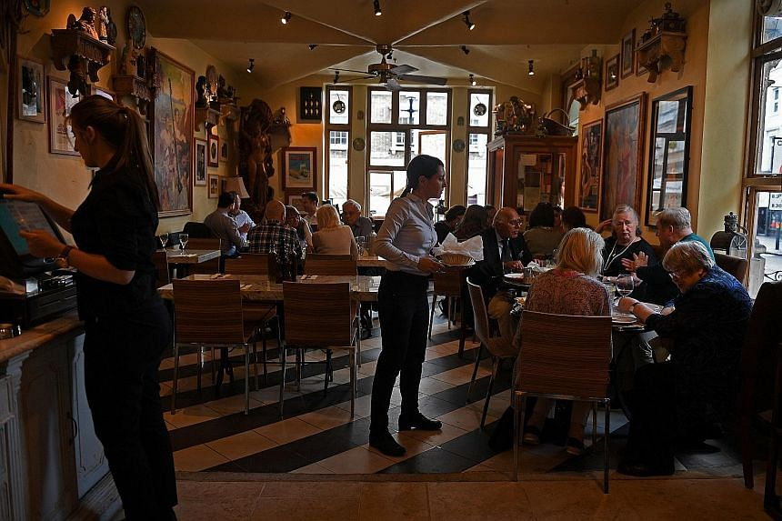 Falling disposable incomes and the side-effects of Brexit have combined to cause havoc with Britain's restaurant industry.