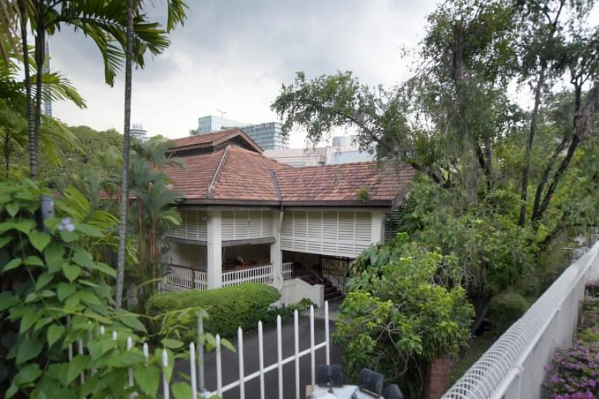 The home of former prime minister Lee Kuan Yew at 38, Oxley Road. Of the more than 200 bungalows in Singapore conserved to date, only an estimated 16 bungalows belong to the same style and era as 38, Oxley Road.