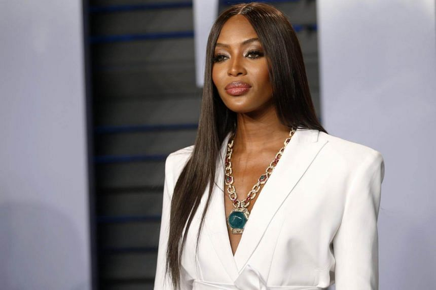 Supermodel Naomi Campbell, who was visiting Nigeria's commercial capital, Lagos, said there was a need for better representation of Africa.