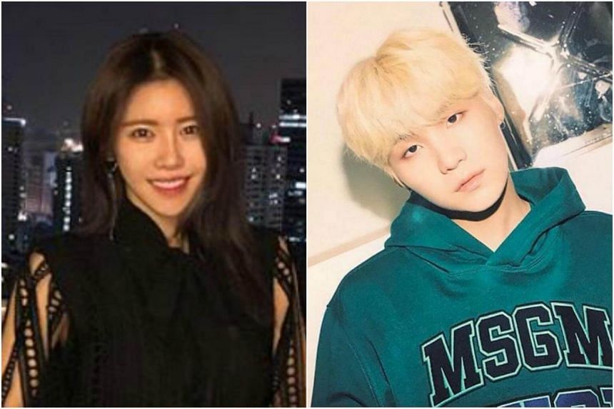 K-pop singer Suran wrote on her social media account that she is not romantically involved with Suga of BTS.