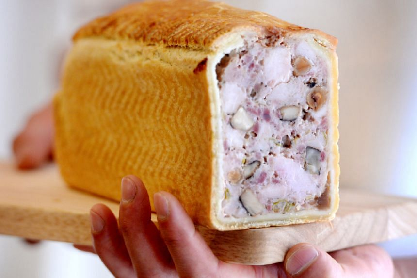 Maison Jo's pate en croute is a rich, buttery and unctuous delicacy that is visually stunning with its golden-hued pastry dough crust.
