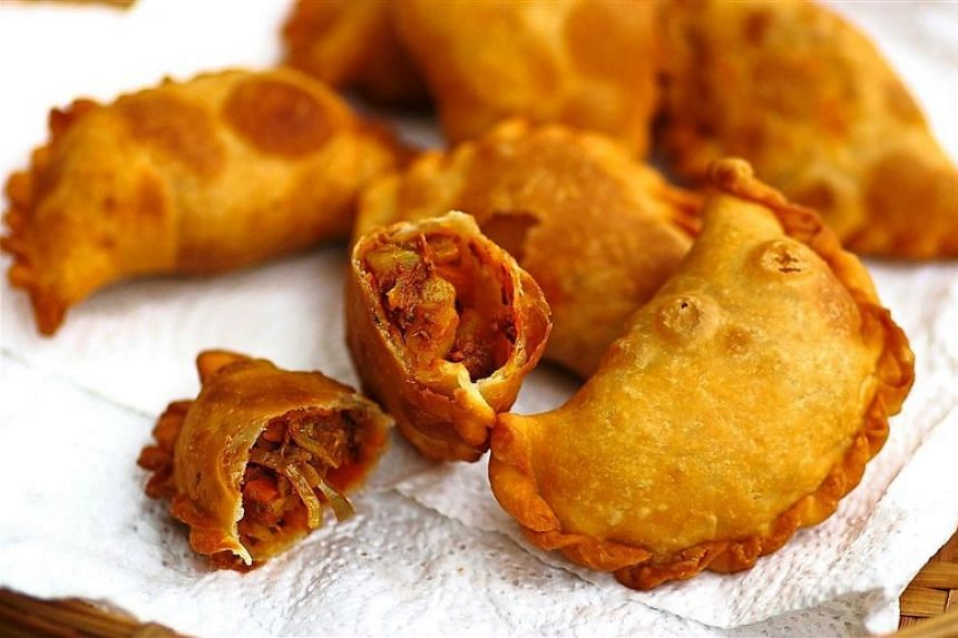 Spicy pumpkin puffs.