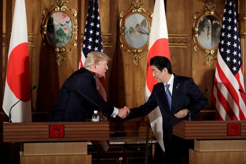 US President Donald Trump and Japanese Prime Minister Shinzo Abe will meet Mar-a-Lago resort in Florida on April 17 and 18.