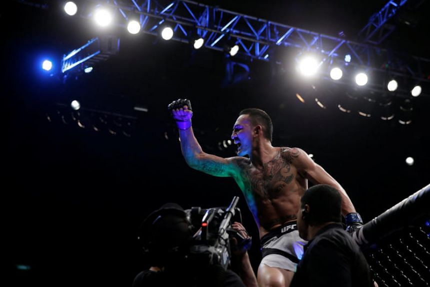 Max Holloway will take on Khabib Nurmagomedov for the lightweight title at UFC 223 in New York on April 7, 2018.